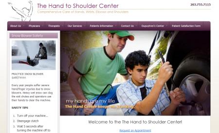Hand to Shoulder Center