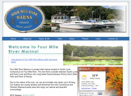 Four Mile River Marina
