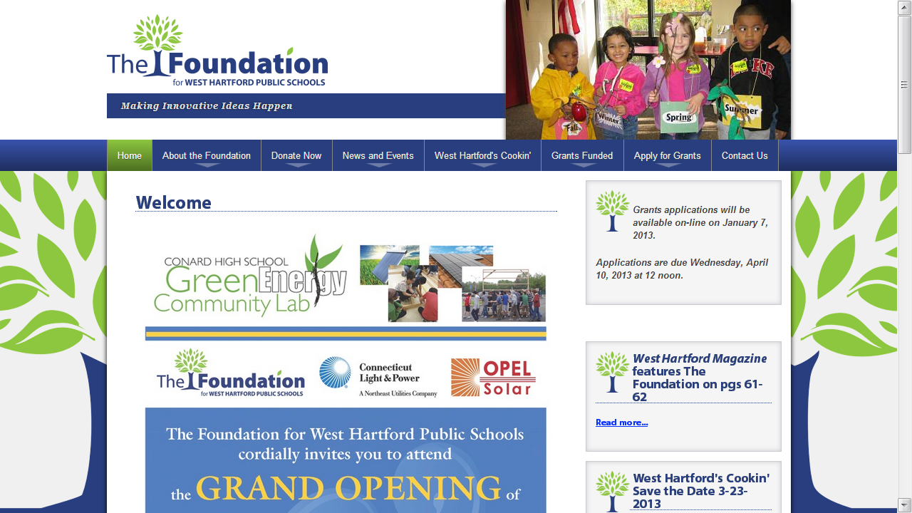 The Foundation West Hartford Public Schools