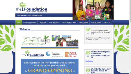 The Foundation West Hartford Public Schools